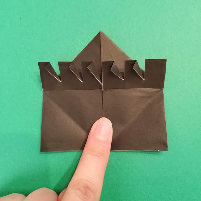鬼滅の刃 折り紙のはなこの折り方作り方2(26)