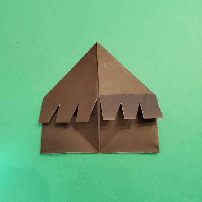 鬼滅の刃 折り紙のはなこの折り方作り方2(27)