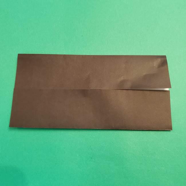 鬼滅の刃 折り紙のはなこの折り方作り方2(4)