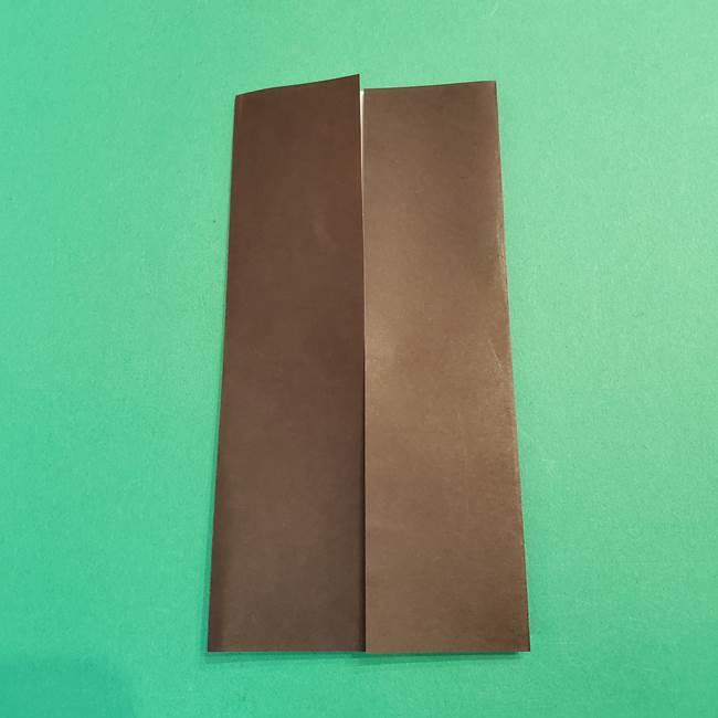 鬼滅の刃 折り紙のはなこの折り方作り方2(5)