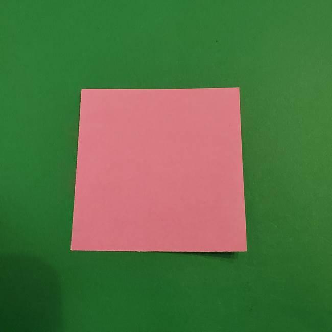 鬼滅の刃 折り紙のはなこの折り方作り方3(1)
