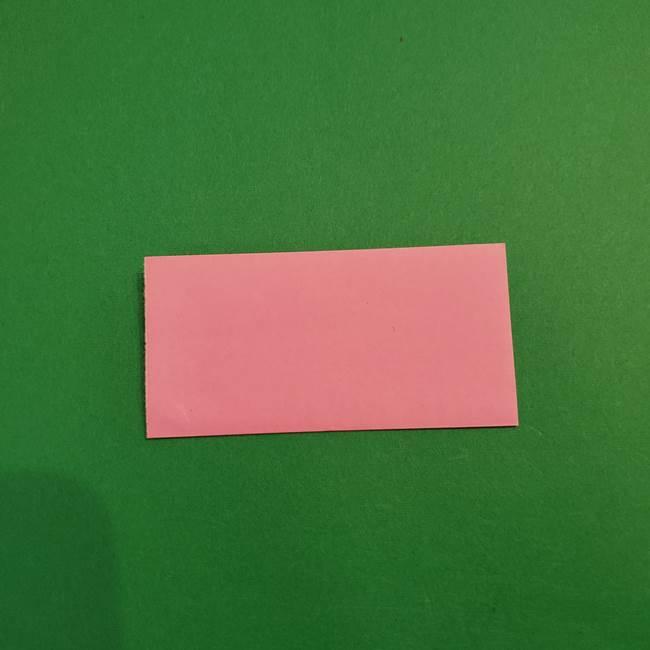 鬼滅の刃 折り紙のはなこの折り方作り方3(2)