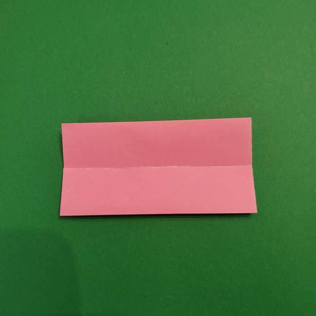 鬼滅の刃 折り紙のはなこの折り方作り方3(4)