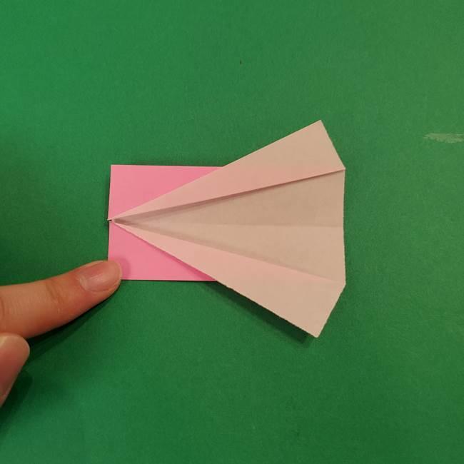鬼滅の刃 折り紙のはなこの折り方作り方3(5)