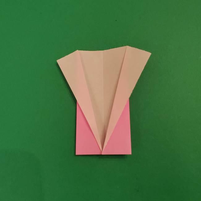 鬼滅の刃 折り紙のはなこの折り方作り方3(6)