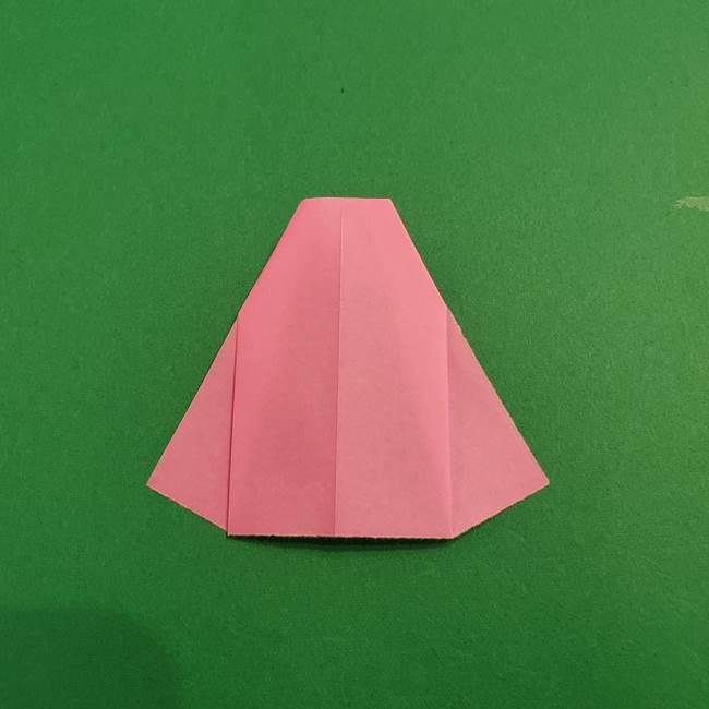 鬼滅の刃 折り紙のはなこの折り方作り方3(9)