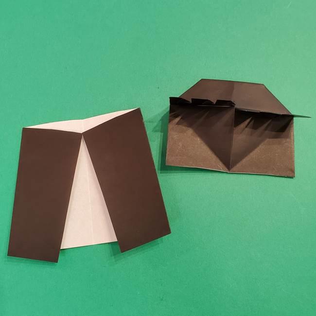 鬼滅の刃 折り紙のはなこの折り方作り方4(2)