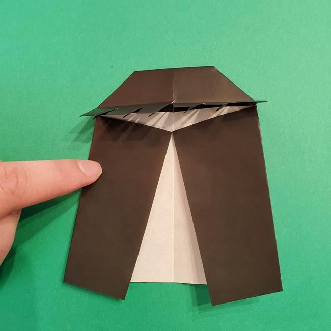 鬼滅の刃 折り紙のはなこの折り方作り方4(3)