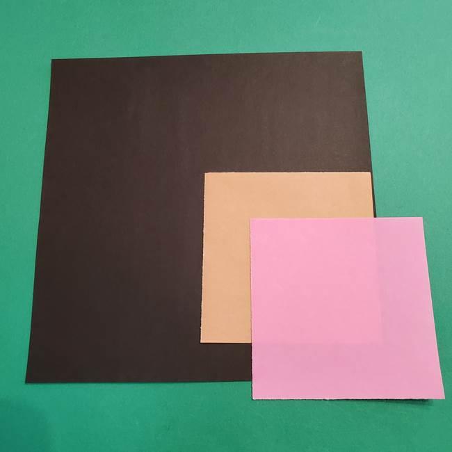 鬼滅の刃 折り紙のはなこの材料*必要なもの(1)