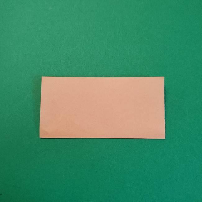 きめつのやいばの折り紙 鬼舞辻無惨の折り方作り方1顔(2)