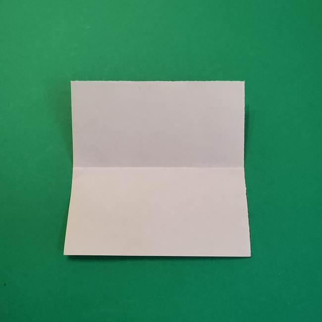 きめつのやいばの折り紙 鬼舞辻無惨の折り方作り方1顔(3)