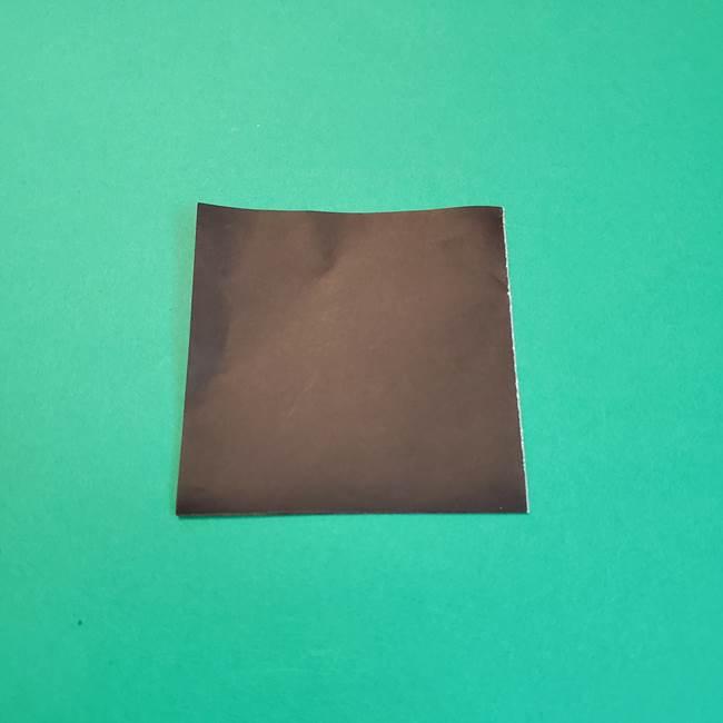 きめつのやいばの折り紙 鬼舞辻無惨の折り方作り方2髪(4)