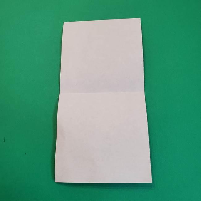 きめつのやいばの折り紙 鬼舞辻無惨の折り方作り方2髪(5)