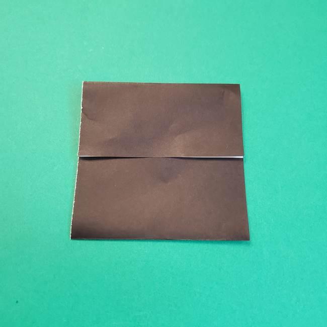 きめつのやいばの折り紙 鬼舞辻無惨の折り方作り方2髪(6)