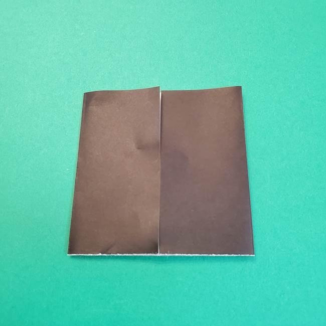 きめつのやいばの折り紙 鬼舞辻無惨の折り方作り方2髪(7)