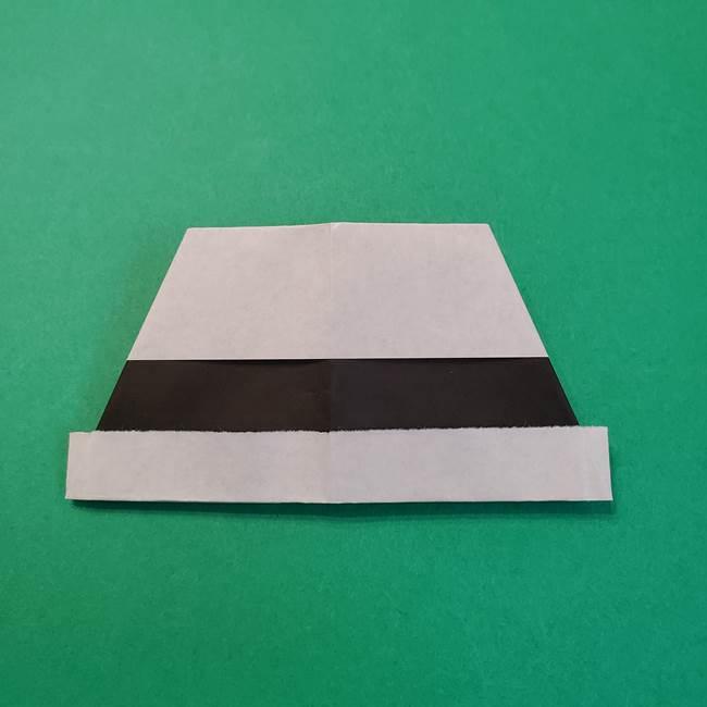 きめつのやいばの折り紙 鬼舞辻無惨の折り方作り方3帽子(11)