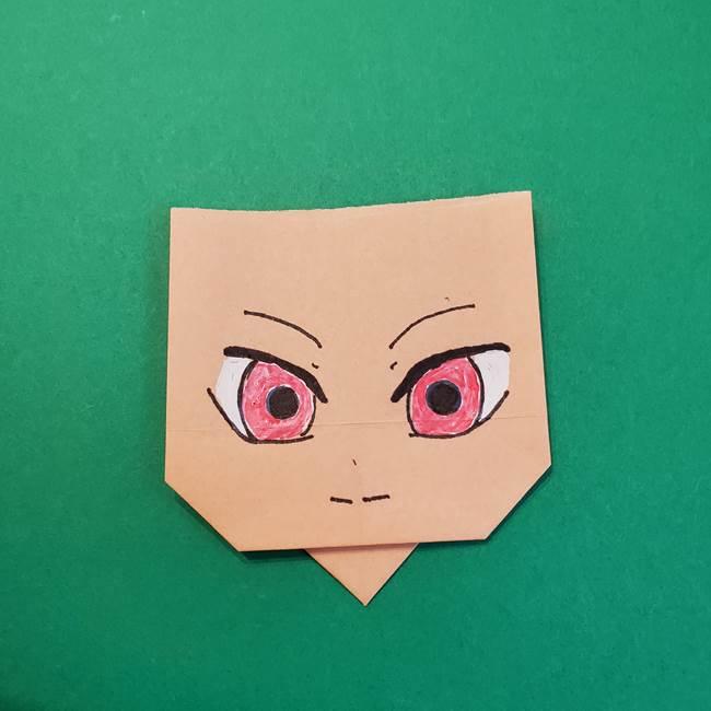 きめつのやいばの折り紙 鬼舞辻無惨の折り方作り方5(2)