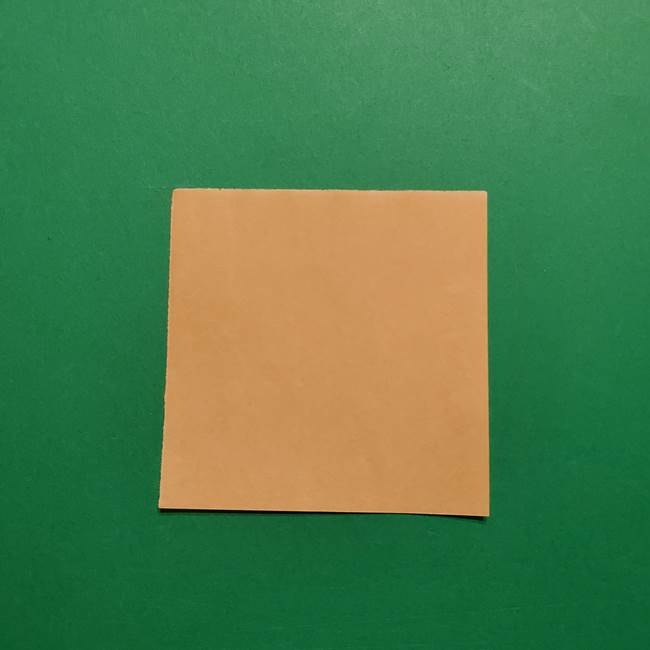 きめつのやいば よりいちの折り紙の折り方・作り方1顔(1)
