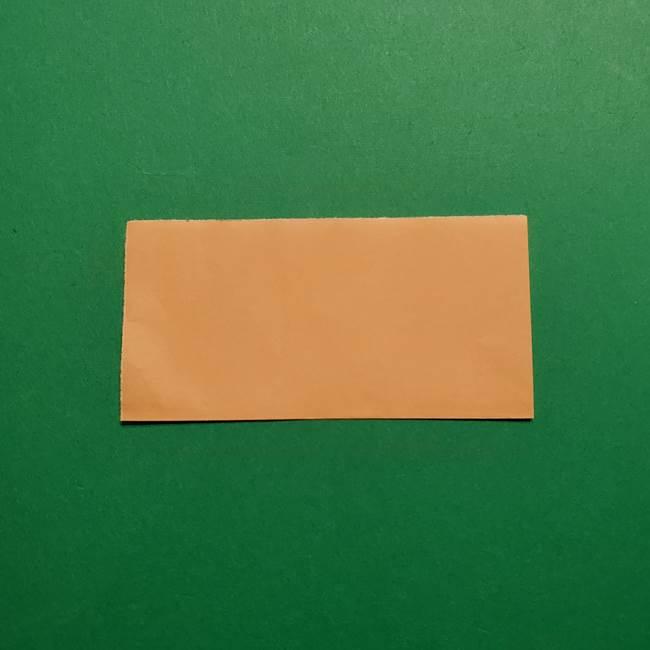 きめつのやいば よりいちの折り紙の折り方・作り方1顔(2)