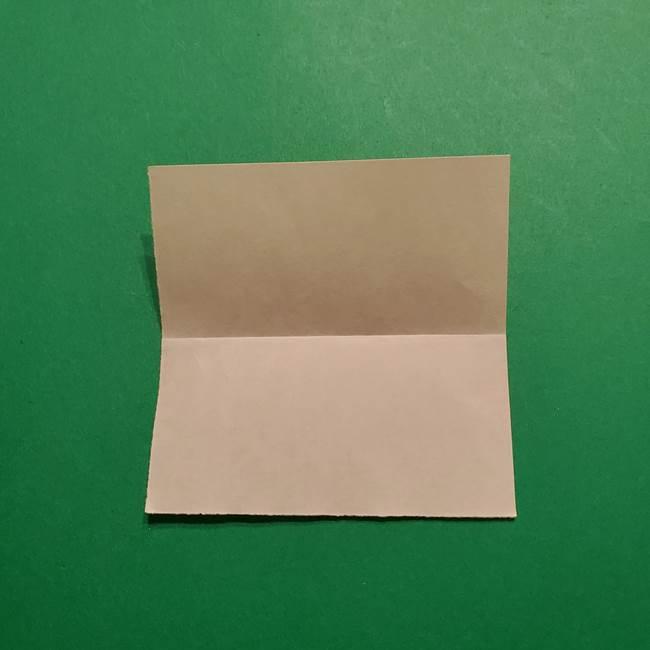 きめつのやいば よりいちの折り紙の折り方・作り方1顔(3)
