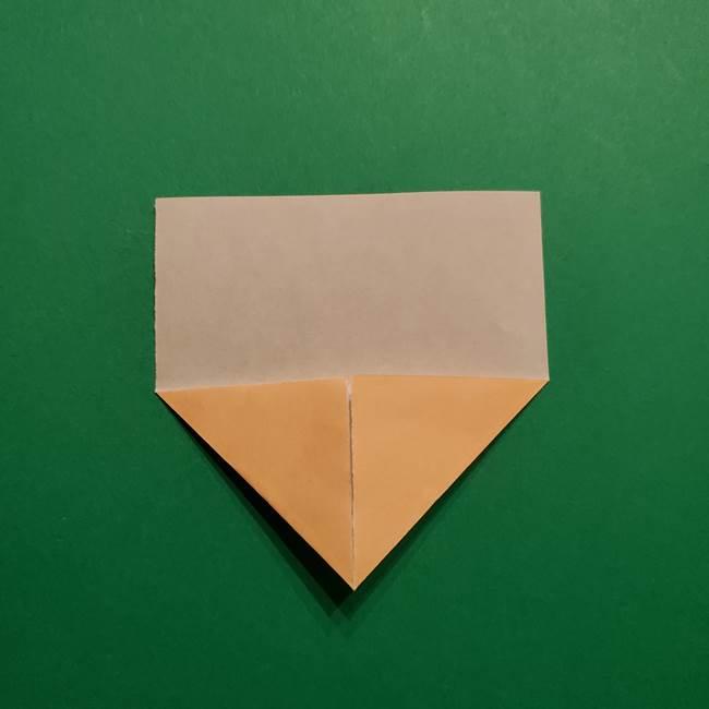 きめつのやいば よりいちの折り紙の折り方・作り方1顔(4)