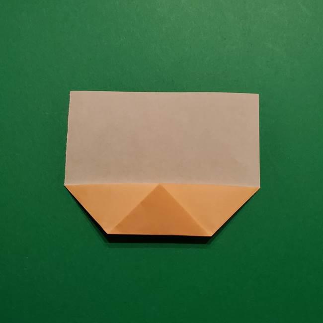 きめつのやいば よりいちの折り紙の折り方・作り方1顔(5)