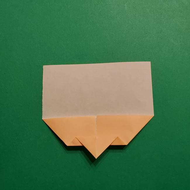 きめつのやいば よりいちの折り紙の折り方・作り方1顔(6)