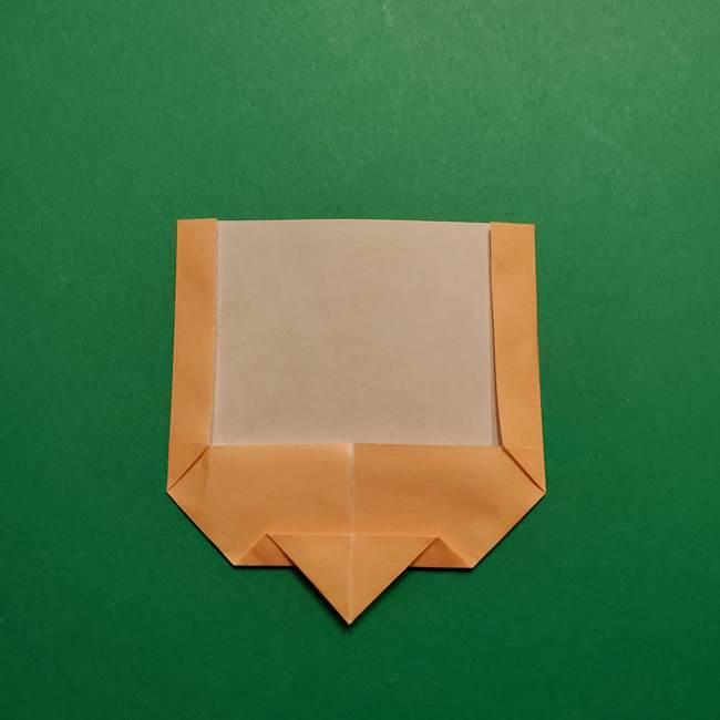 きめつのやいば よりいちの折り紙の折り方・作り方1顔(7)