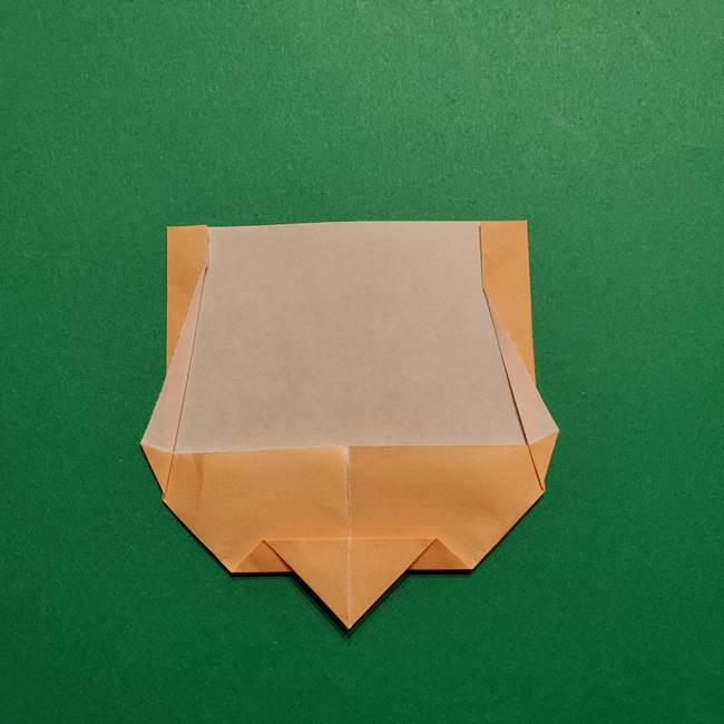 きめつのやいば よりいちの折り紙の折り方・作り方1顔(8)