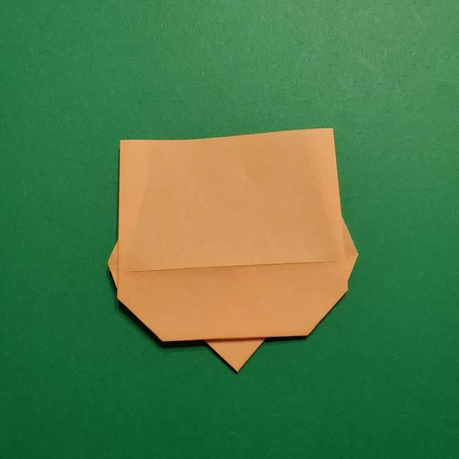 きめつのやいば よりいちの折り紙の折り方・作り方1顔(9)
