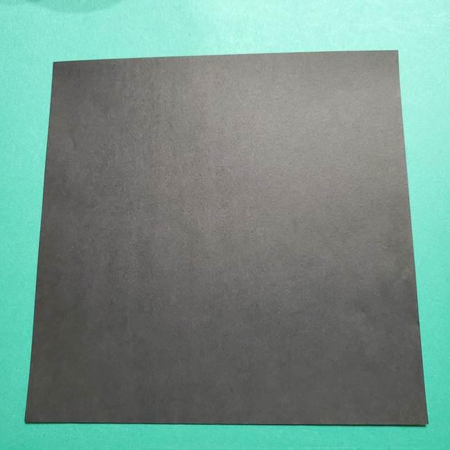 きめつのやいば よりいちの折り紙の折り方・作り方2髪(1)