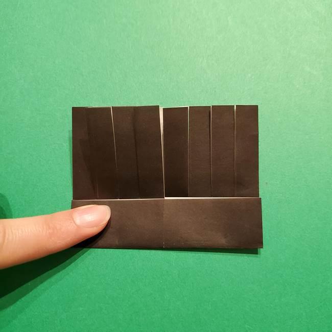きめつのやいば よりいちの折り紙の折り方・作り方2髪(13)