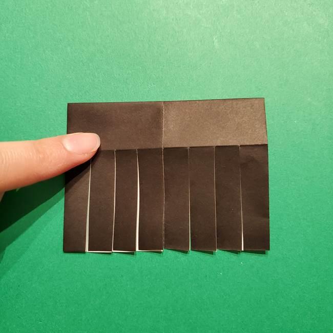 きめつのやいば よりいちの折り紙の折り方・作り方2髪(14)