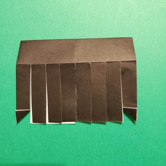 きめつのやいば よりいちの折り紙の折り方・作り方2髪(15)
