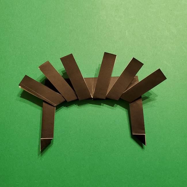 きめつのやいば よりいちの折り紙の折り方・作り方2髪(16)