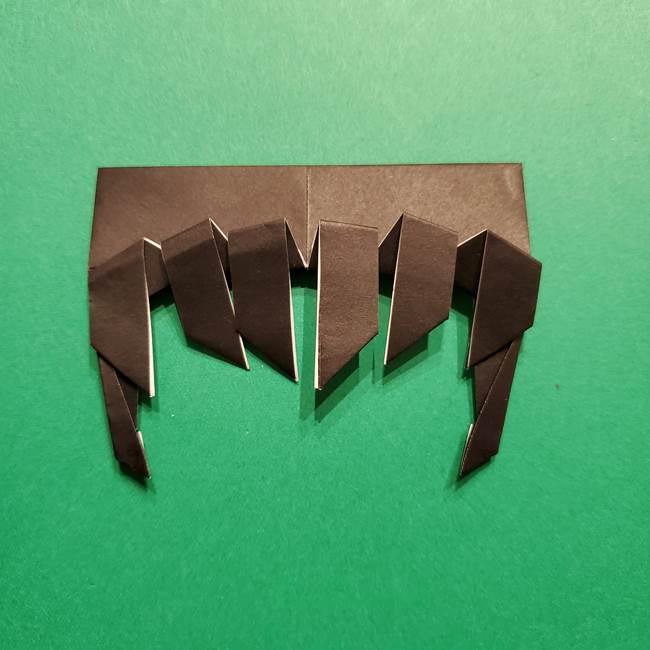 きめつのやいば よりいちの折り紙の折り方・作り方2髪(18)