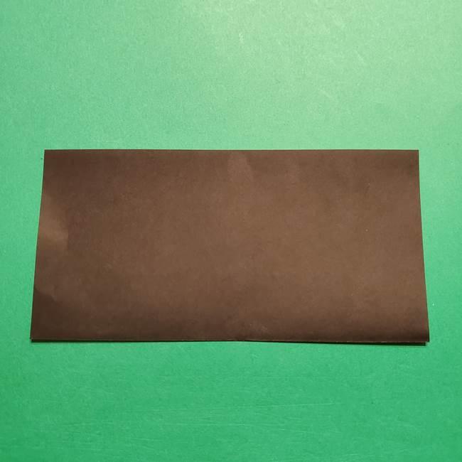 きめつのやいば よりいちの折り紙の折り方・作り方2髪(2)