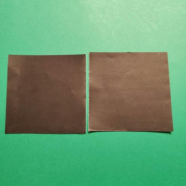 きめつのやいば よりいちの折り紙の折り方・作り方2髪(20)