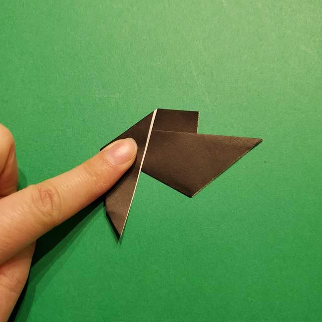 きめつのやいば よりいちの折り紙の折り方・作り方2髪(25)