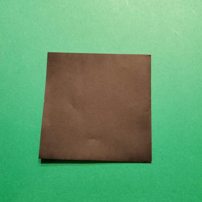 きめつのやいば よりいちの折り紙の折り方・作り方2髪(3)