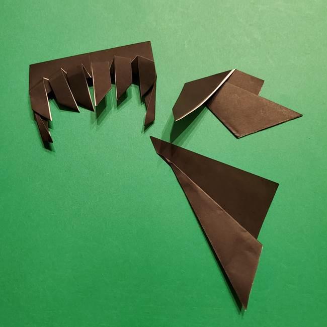 きめつのやいば よりいちの折り紙の折り方・作り方2髪(30)