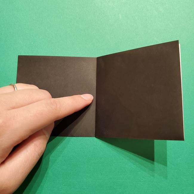 きめつのやいば よりいちの折り紙の折り方・作り方2髪(4)