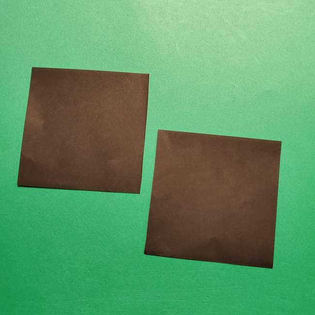 きめつのやいば よりいちの折り紙の折り方・作り方2髪(5)