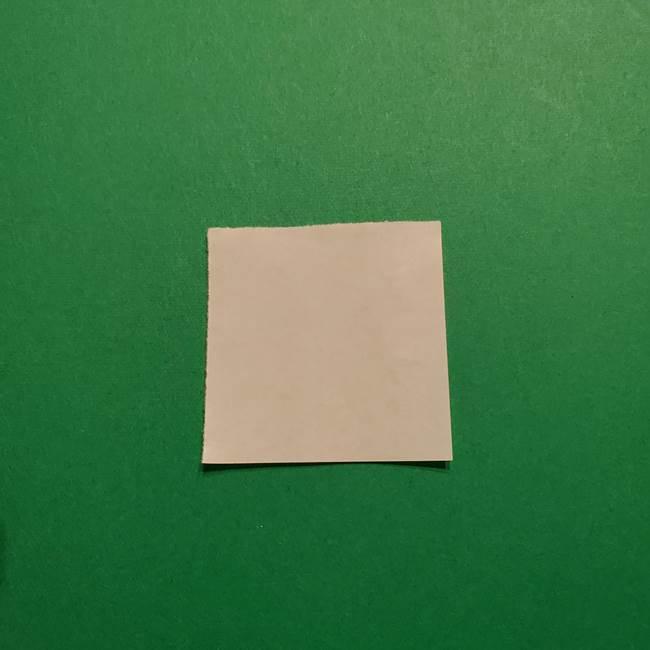 きめつのやいば よりいちの折り紙の折り方・作り方3耳飾り(1)