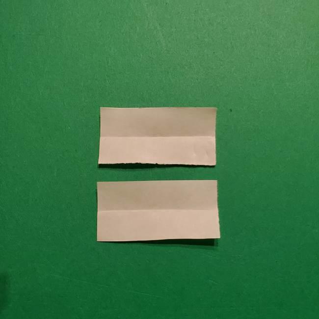 きめつのやいば よりいちの折り紙の折り方・作り方3耳飾り(4)