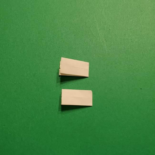 きめつのやいば よりいちの折り紙の折り方・作り方3耳飾り(6)