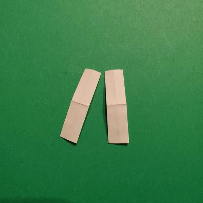 きめつのやいば よりいちの折り紙の折り方・作り方3耳飾り(7)