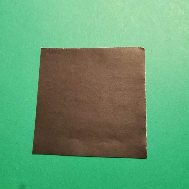 きめつのやいば よりいちの折り紙の折り方・作り方4着物(1)