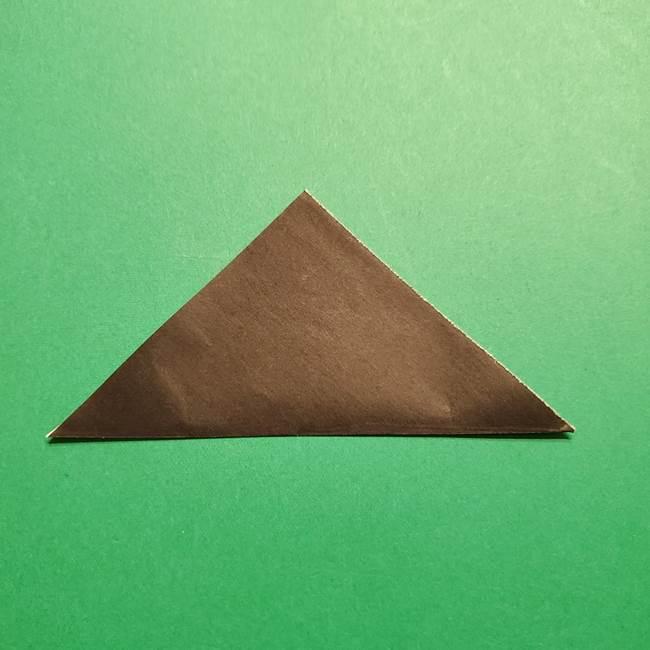 きめつのやいば よりいちの折り紙の折り方・作り方4着物(2)