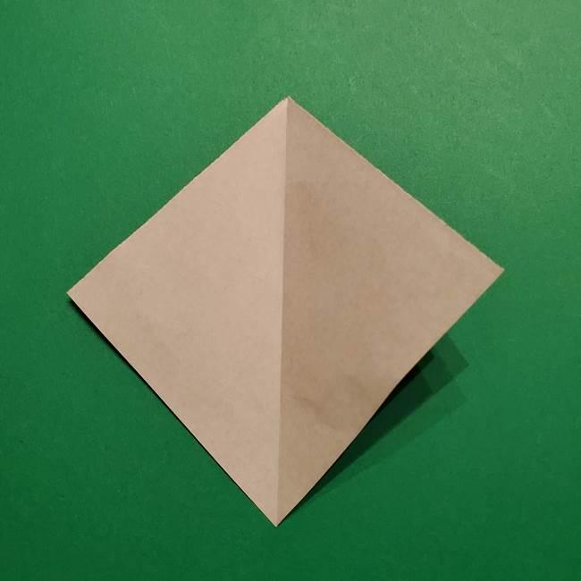 きめつのやいば よりいちの折り紙の折り方・作り方4着物(3)